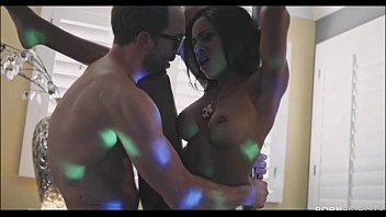 Ebony Stripper Anya Ivy Works Her Pole Skills With A BWC