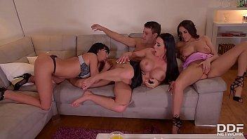Hardcore anal home party with Anissa Kate&nbsp_&amp_&nbsp_Patty Michova&nbsp_&amp_&nbsp_Valentina Ricci