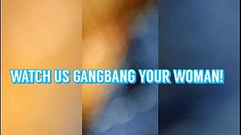 BBC GANGBANG CREW RUN A TRAIN ON HOT MILF CREAMPIE PUSSY POV AMATEUR BLACKEDRAW MOM SHARED BRING YOUR WIFE!