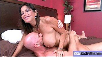 (Tara Holiday) Naughty Horny Slut Housewife Love Intercorse On Cam clip-28