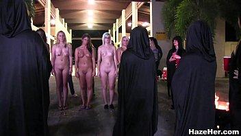 Night time Hazing Ceremony