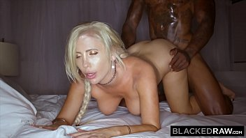 BLACKEDRAW Blonde Milf  destroyed by BBC on vacation Thumb