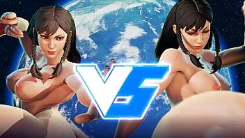Street Fighter mod Chun-li peladona !