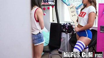 Mofos - Share My BF - Sorority Chicks Hazing Fun starring  Kelsi Monroe and Jmac and Jade Amber