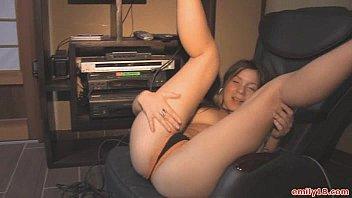 Emily 18 Strip Video