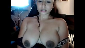 Hot slutty girl showed topless behind her cosin