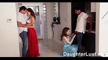 I padri scambiano le figlie vergini nella notte del ballo | DaughterLust.com