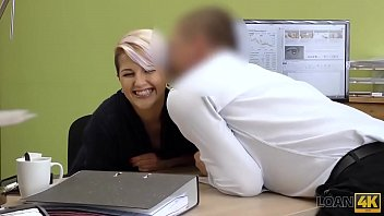 LOAN4K. Naughty Lussy Sweet uses her sexual charms to get necessary credit