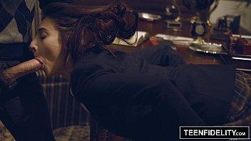 TEENFIDELITY - Schoolgirl Michelle Taylor Creampied By Teacher