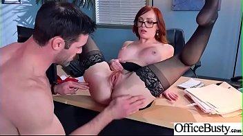 (Dani Jensen) Busty Office Slut Girl In Hardcore Sex Scene clip-10