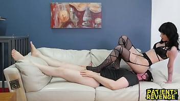 Charlotte Sartre Dominates Her Doctor anushka shetty sex oldman porn videos