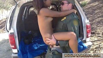 Police gangbang hd and female fake taxi cop xxx Cute Ebony teenager