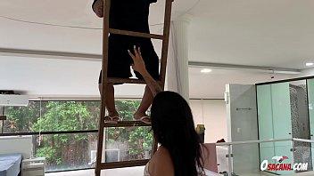 Precisou subir na escada para... * Lorena Vasconcellos * Natalia Prado * Andrehot *
