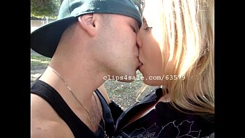 Steve and Tracie Kissing Video 2