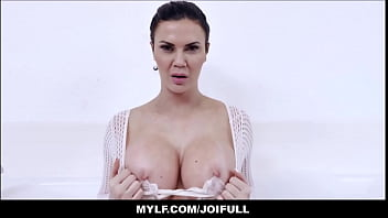 Your Big Tits MILF Stepmom Jasmine Jae Orgasms With You In The Bath Tub JOI POV