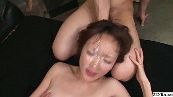 Uncensored JAV Myuu Bareback Bukkake Sex Party Subtitled
