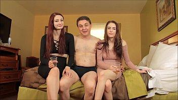 Violet Monroe and Anna de Ville: PORN video with Andrea Dipr&egrave_