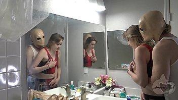 chicas follando con Son tricks mom for halloween sex and giant creampie - ft. the cock ninja