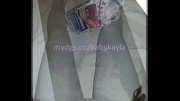Teen Diaper Girl