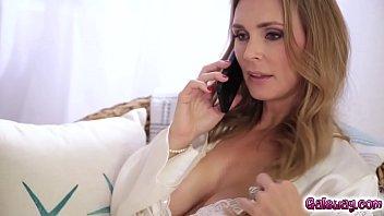 Tanya Tate licking Skylar Madisons cute nipples