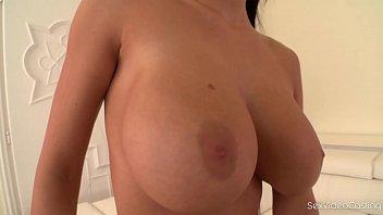 Sporty Vixen Patty Michova shows her Perfect tits in Porn casting