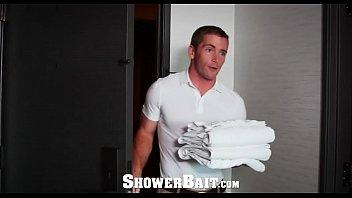 ShowerBait Straight bait fuck with Scott Riley and Adam Bryant