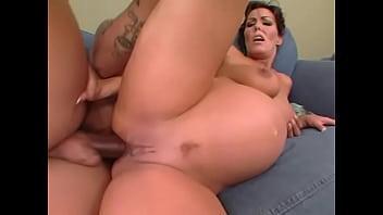 Nancy Vee - pregnant interracial anal