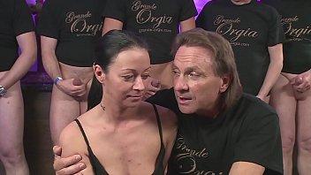Sex Orgie - Hart und heftig gefickt - Bukkake