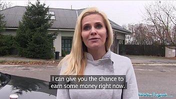 Public Agent Desperate MILF Black Canary Fucks for a Job thumbnail