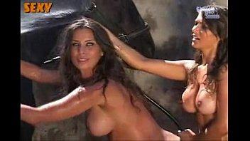 Dani Bolina, Lizzi Benites e Gabriela Monteiro - Making Of Sexy -www.Panicat.org