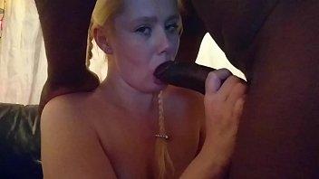 Summer Ray BBC Feeding slut swallows every drop