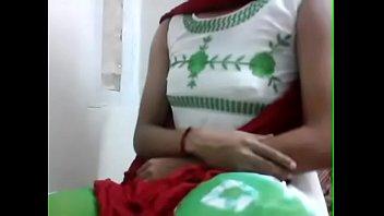 Crossdresser in long skirt