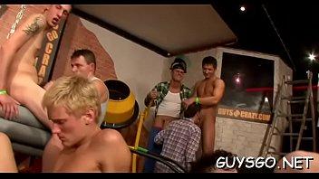 Homo orgy