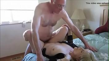 Elderly couples having sex