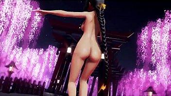 MMD japanese 3D loli dancing gourp hentai anime cartoons