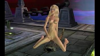 blondi and pleasure machine 3d
