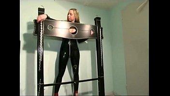 stories self bondage shock machine excerise