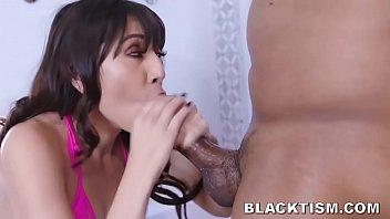 Surprised Teen Catches Black Neighbor Nude In Shower So Fucks Him