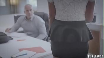 Boss Sexually Harasses his secretary (Brett Rossi / Derek Pierce)