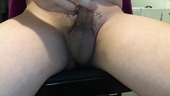 Masturbating Young Cute Guy at home
