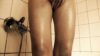 Young kinky girl whipped cream shaving, peeing, inserting masturbation