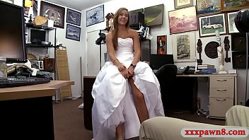 Babe sells her wedding dress and pounded