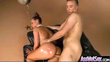 Big Ass Girl (nikki benz) Get Oiled And Analy Nail vid-24