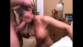 Amateur Wife's Messy Facial Cumshot