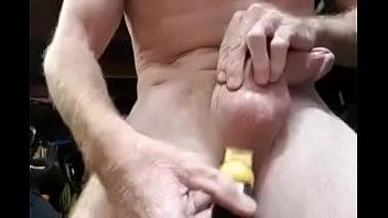Shaving my balls homemade dick soloboy