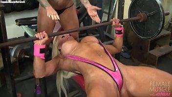 Female Bodybuilder Lesbians Tattoos and Tits - 69VClub.Com