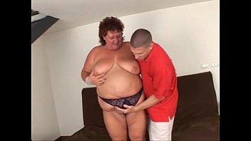 Mature granny huge fat woman hungry sex