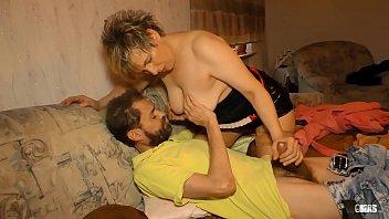 XXX OMAS - Amateur German BBW Evelin K. gets her granny pussy drilled hard