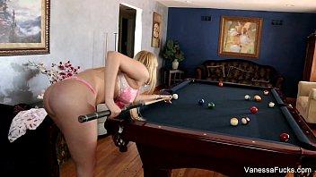 Vanessa Cage Billiards Fuck