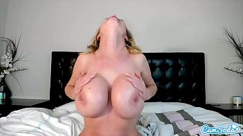 CamSoda - Nikki Benz Lotion Big Tits and Masturbation